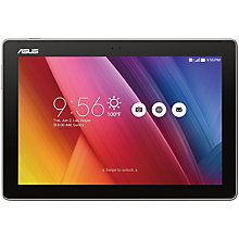 "Buy Asus ZenPad 10.0 Tablet, Intel Atom, Android, 10"", Wi-Fi, 16GB Online at johnlewis.com"