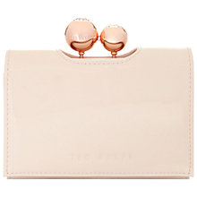 Buy Ted Baker Ottlan Leather Matinée Top Fold Purse Online at johnlewis.com