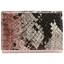 Buy Ted Baker Carissa Mini Leather Purse, Multi Online at johnlewis.com