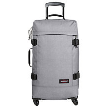 Buy Eastpak Trans4 Medium Suitcase, 70cm, Grey Online at johnlewis.com