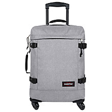 Buy Eastpak Trans4 Cabin Suitcase, 54cm, Sunday Grey Online at johnlewis.com