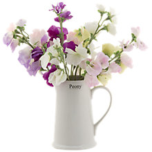 Buy Peony Sweetpea Jug Online at johnlewis.com