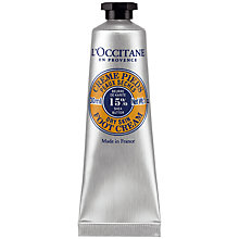 Buy L'Occitane Shea Butter Foot Cream, 30ml Online at johnlewis.com