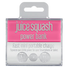 Buy Juice Squash Power Bank Portable Charger with Micro USB to USB Cable Online at johnlewis.com