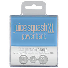 Buy Juice Squash XL Power Bank Portable Charger for iPhone 6/Samsung 5G Online at johnlewis.com