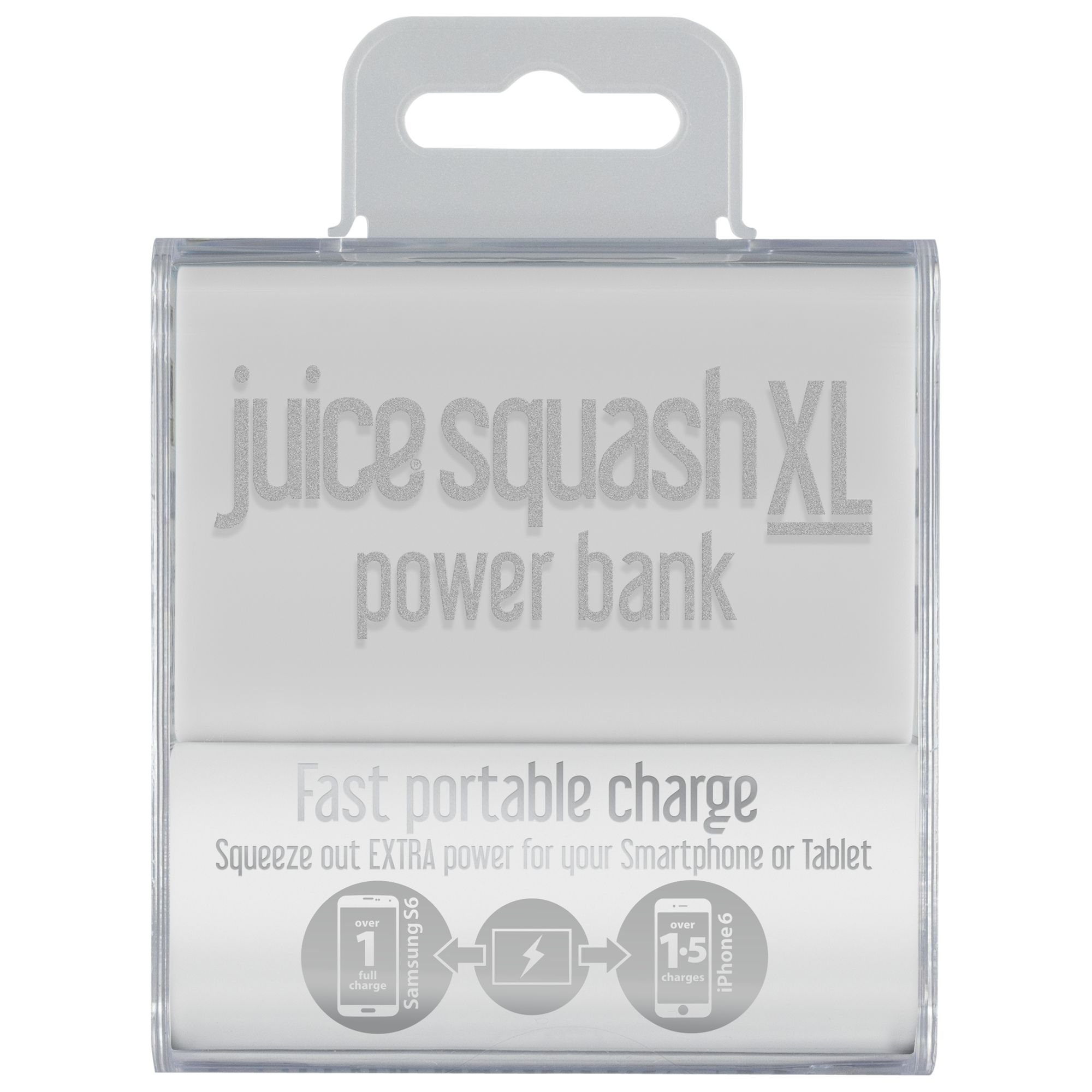 Juice Juice Squash XL Power Bank Portable Charger for iPhone 6/Samsung 5G