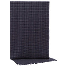 Buy Reiss Benson Houndstooth Lambswool Cashmere Scarf, Navy Online at johnlewis.com