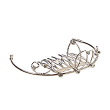 Buy Rockahula Metal Tiara Hair Slide, Silver Online at johnlewis.com