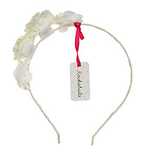 Buy Rockahula Tallulah Flower Alice Band, Ivory Online at johnlewis.com