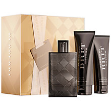 Buy Burberry Brit Rhythm Rhythm Mens 90ml Eau de Toilette Gift Set Online at johnlewis.com