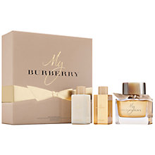 Buy My Burberry 90ml Eau de Parfum Gift Set Online at johnlewis.com