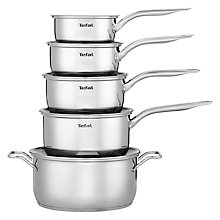 Buy Tefal Intuition Stainless Steel 5-Piece Set Online at johnlewis.com