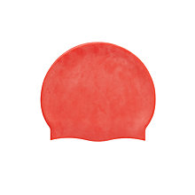 Buy Plain Swimming Cap, Red Online at johnlewis.com