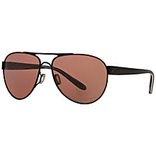 Buy Oakley OO4110 Polarised Aviator Sunglasses Online at johnlewis.com