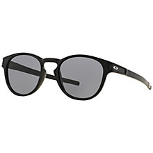 Buy Oakley OO9265 Latch Round Sunglasses Online at johnlewis.com