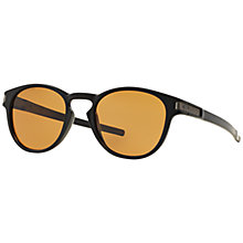 Buy Oakley OO9265 Latch Polarised Round Sunglasses Online at johnlewis.com