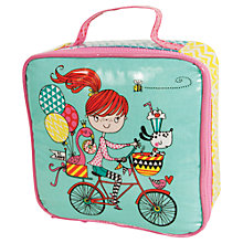 Buy Rachel Ellen Girl on a Bicycle Lunch Bag Online at johnlewis.com