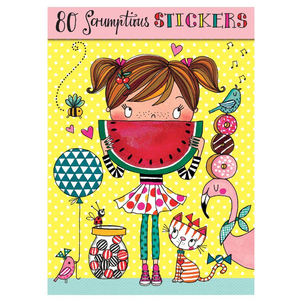 Rachel Ellen Rachel Ellen Scrumptious Stickers, Set of 80