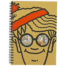 Buy Where's Wally Notebook, A5 Online at johnlewis.com