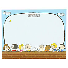 Buy Vintage Peanuts Keyboard/Desk Notepad Online at johnlewis.com