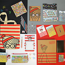 Buy Where's Wally Stationery Range Online at johnlewis.com