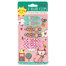 Buy Rachel Ellen Hair Clips, Set of 6 Online at johnlewis.com