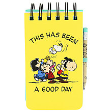 Buy Vintage Peanuts A6 Reporters Online at johnlewis.com