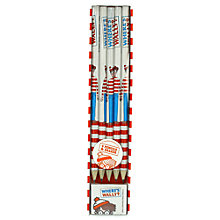 Buy Where's Wally Pencil & Eraser Set Online at johnlewis.com