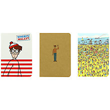 Buy Where's Wally A6 Journal Set Online at johnlewis.com