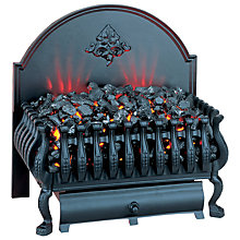 Buy Burley Cottesmore 224 Electric Basket Fire Online at johnlewis.com
