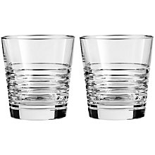 Buy Vera Wang for Wedgwood Grosgrain Noir Platinum Tumbler, Set of 2 Online at johnlewis.com