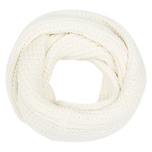 Buy Karen Millen Circle Cowl Neck Scarf, Ivory Online at johnlewis.com
