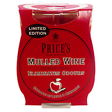 Buy Price's Mulled Wine Scented Candle Online at johnlewis.com