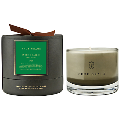 True Grace English Garden Scented Bowl Candle