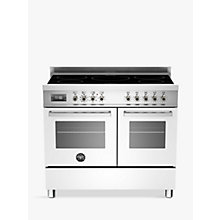 Buy Bertazzoni Professional Series 100cm Electric Induction Range Cooker Online at johnlewis.com