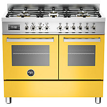 Buy Bertazzoni Professional Series 100cm Dual Fuel Range Cooker Online at johnlewis.com
