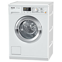 Buy Miele WDA201 Freestanding Washing Machine, 7kg Load, A+++ Energy Rating, 1400rpm Spin, White Online at johnlewis.com