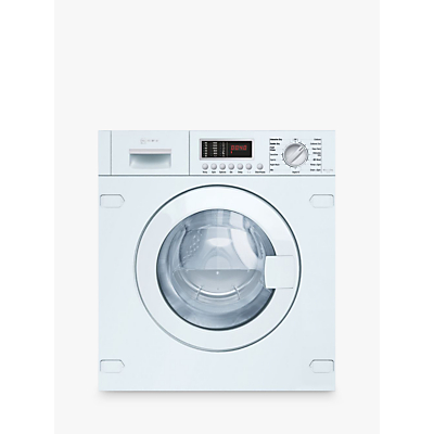 Neff V6540X1GB Integrated Washer Dryer, 7kg Wash/4kg Dry Load, B Energy Rating, 1400rpm Spin