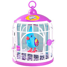 Buy Little Live Pets Tweet Talking Bird In A Cage, Funk Feather Online at johnlewis.com