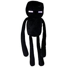 "Buy Minecraft 7"" Plush Toy, Enderman Online at johnlewis.com"