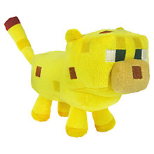 "Buy Minecraft 7"" Plush Toy, Ocelot Online at johnlewis.com"