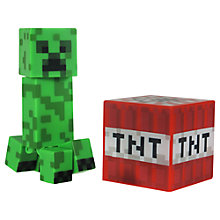 Buy Minecraft Overworld Creeper Action Figure Online at johnlewis.com
