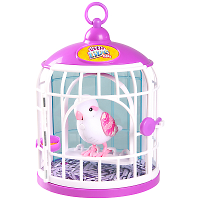 Little Live Pets Tweet Talking Bird In A Cage, Belle Rina