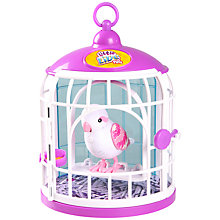 Buy Little Live Pets Tweet Talking Bird In A Cage, Belle Rina Online at johnlewis.com