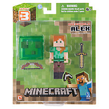 Buy Minecraft Overworld Alex Action Figure Online at johnlewis.com