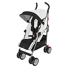 Buy Maclaren BMW M Stroller, White Online at johnlewis.com