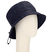 Buy John Lewis Toggle Rain Hat, Navy Online at johnlewis.com