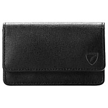 Buy Aspinal of London Saffiano Leather  Business & Credit Card Case, Black Online at johnlewis.com