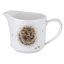 Buy Royal Worcester Wrendale Hedgehog Cream Jug Online at johnlewis.com