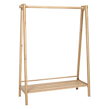 Buy Design Project by John Lewis No.049 Hanging Rail, Oak Online at johnlewis.com